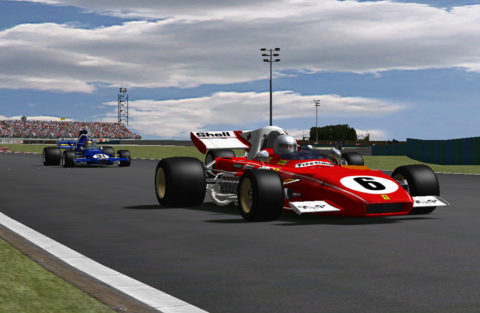 Nuno Gaiteira won fourth place in the Monza '70s F1'71 @ Race2Play.com