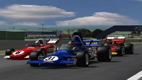 Nuno Gaiteira took ninth place in the Silverstone '79 F1'71 @ Race2Play.com