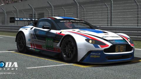 Atlantic Motorsport presents the new Aston Martin EGT Mod