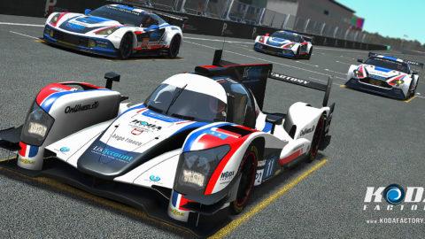 Atlantic Motorsport presents the new PX Revolution LMP2 EGT Mod
