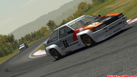 Luís Almeida took sixth place in Round 3 of the AE86 Challenge series in Circuito da Boavista AE86 // Race2Play