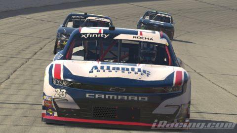 Mario Rocha finish P20 on the NASCAR XFINITY Series S1 – Atlanta Motor Speedway