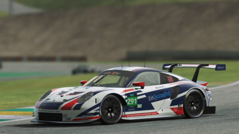 Atlantic Motorsport finished P2 at Sao Paulo on the Virtual Endurance Championship