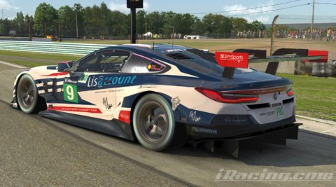 Jorge Cabrita finish P6 on the IMSA iRacing Championship Series S1 – Watkins Glen