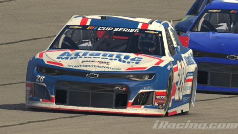 Mario Rocha finish P5 on the NASCAR CUP SERIES S1 – Auto Club Speedway