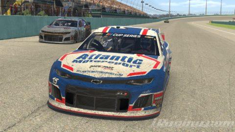 HOMESTEAD MIAMI – Mario Rocha finish P19 on the NASCAR iRacing Series – Open
