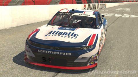 Jorge Cabrita finish P2 on the NASCAR XFINITY Series S2 – Atlanta Motor Speedway