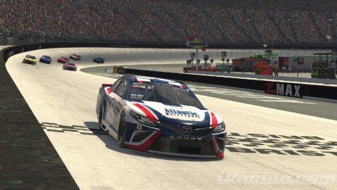 Mario Rocha finish P10 on the NASCAR CUP SERIES S2 – Bristol Motor Speedway