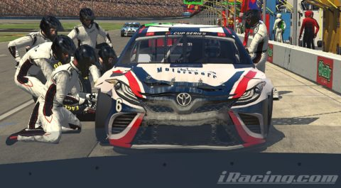 Mario Rocha finish P5 on the NASCAR CUP SERIES S2 – Texas Motor Speedway