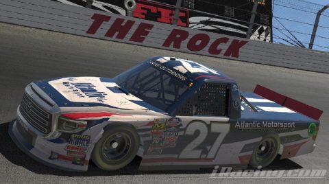 Mario Rocha finish P20 on the NASCAR ROAD TO PRO SERIES – The Rock