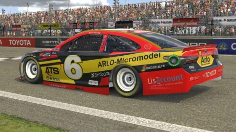 Mario Rocha finish P6 on the NASCAR CUP SERIES S1 – Watkins Glen