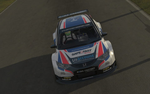 Paulo Braga captured 16th place in the opening round of the DG BTCC CUP series in Portugal – GP BTCC // Race2Play