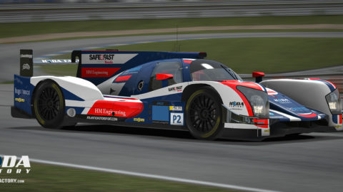 Atlantic Motorsport LMP2 car finished 18th place in the 4 hours Montreal – VLMS | S1 | R1