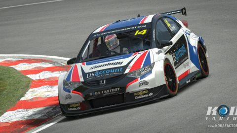 Atlantic Motorsport presents the new Honda Civic NGTC